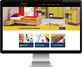 şerifoğlu mobilya site tasarımı